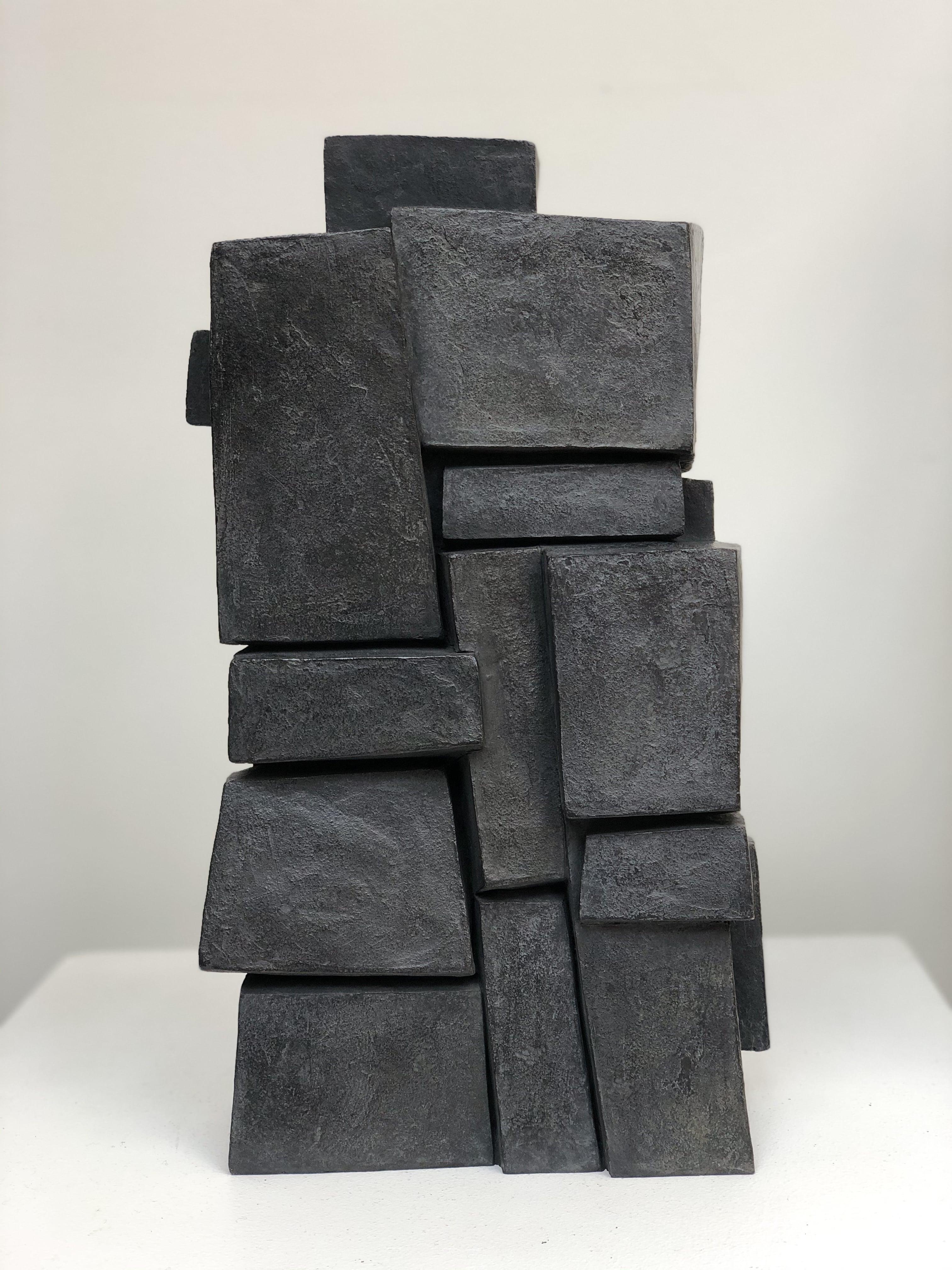 Unity I, Bronze (Geometric Sculpture)