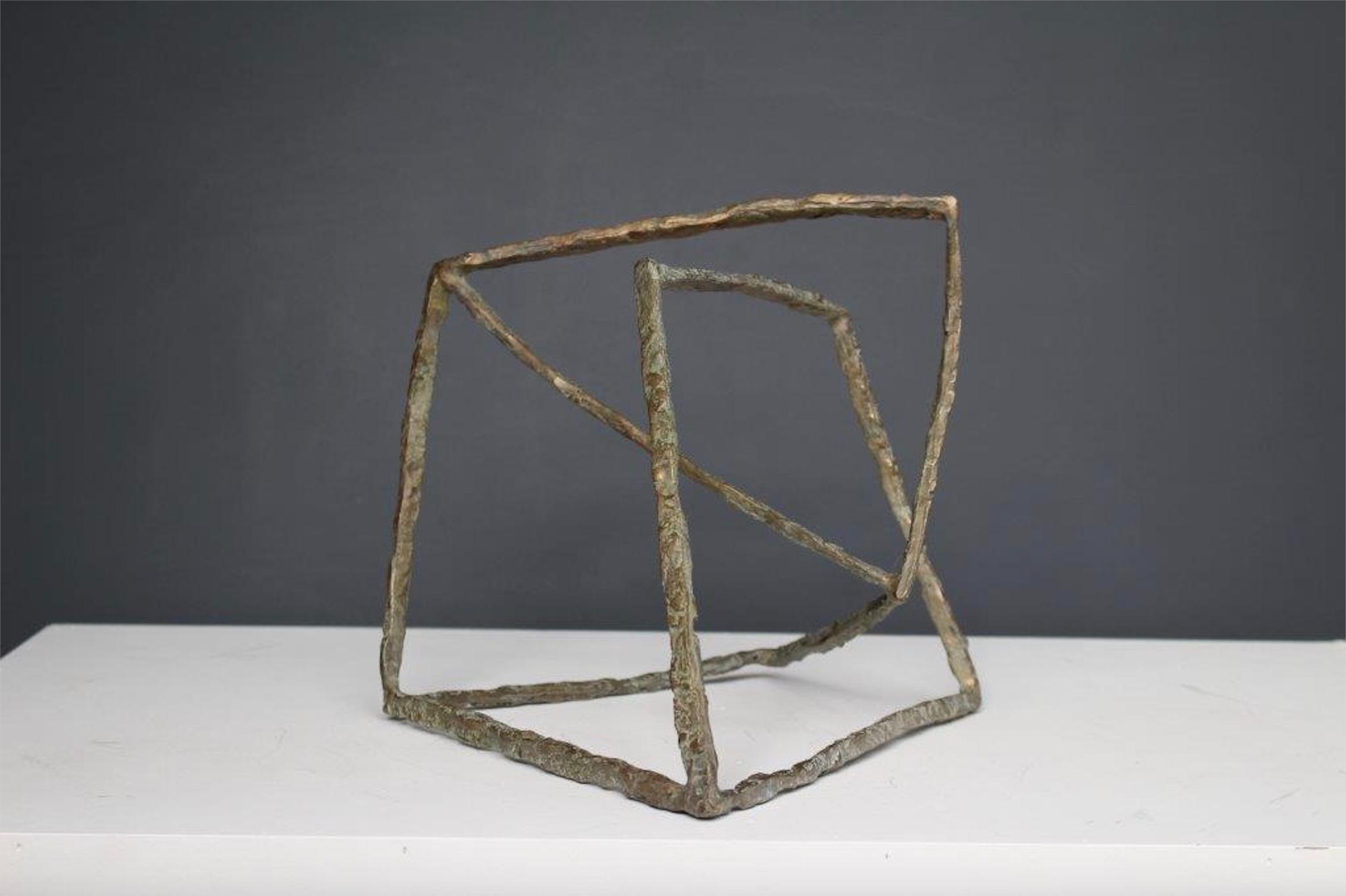 Variation - Abstract Bronze Sculpture