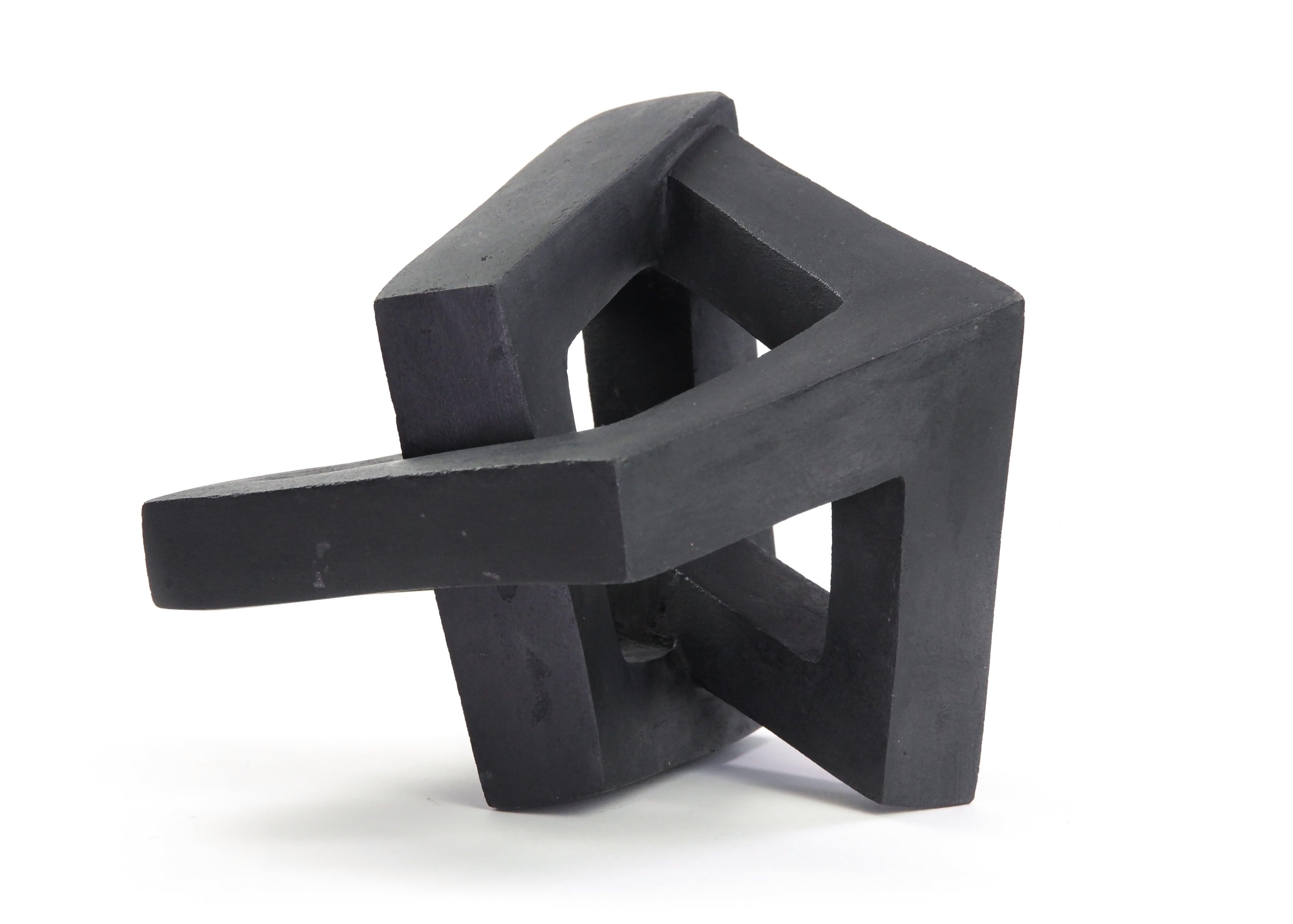 Variation III by Delphine Brabant - Abstract Concrete Sculpture