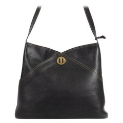 Delvaux Black Bernol Shoulder Bag