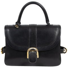Delvaux Black Brillant Rouilly