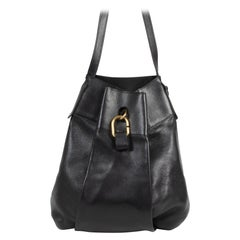 Delvaux Black Faust Shoulder Bag