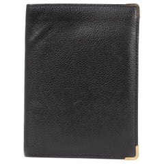 Delvaux Black Leather Wallet