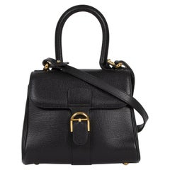 Delvaux Black Mini Brillant Bag