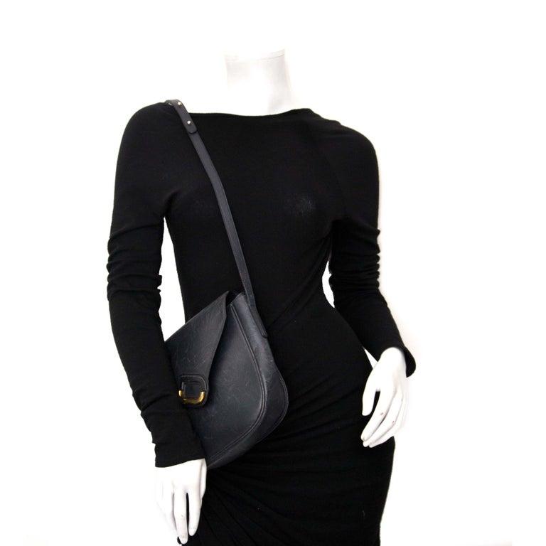 Women's Delvaux Blue Shoulder Bag For Sale
