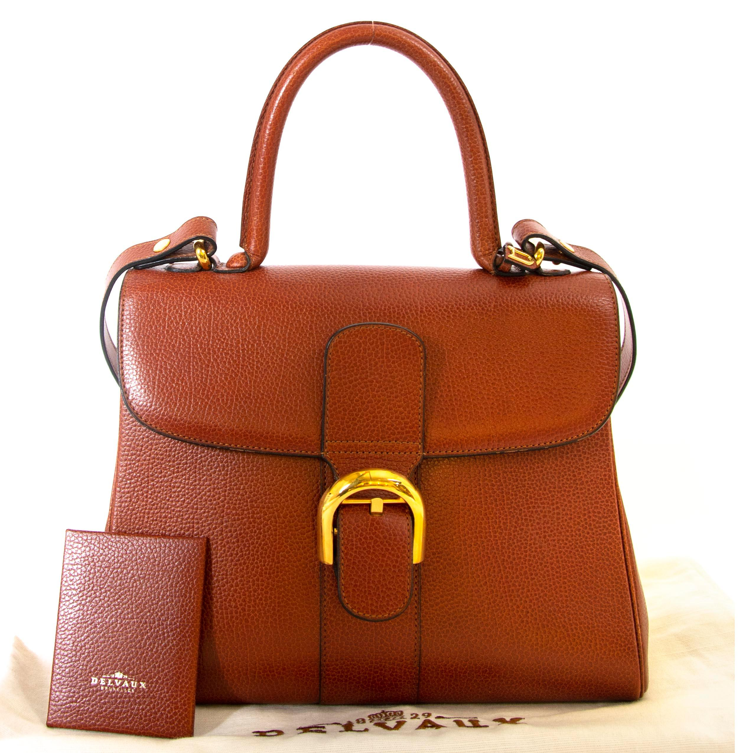 Delvaux Brillant Brown Mm Bag At 1stdibs