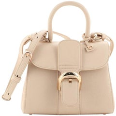 Delvaux Brillant Top Handle Bag Leather Mini
