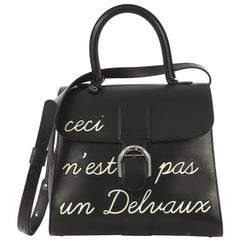 Delvaux Brillant Top Handle Bag Limited Edition Leather MM