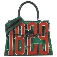 Delvaux Brillant Top Handle Bag Limited Edition Vinyl GM