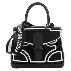 Delvaux Champion Brillant Top Handle Bag PVC and Rubber MM