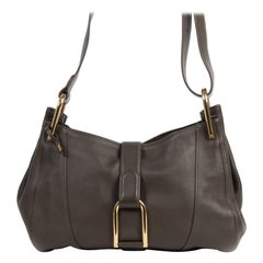 Delvaux Dark Brown Chablis Bag