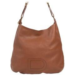 Delvaux Fauve Louise GM Shoulder Bag