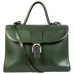 f3683e363 Delvaux Green Brillant GM + Strap