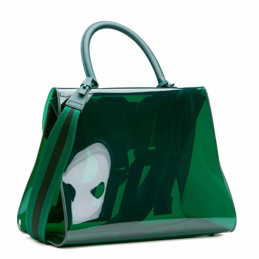 Delvaux Green Vinyl 1829 Bag XjJkz3Xo