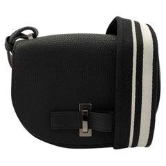 DELVAUX Mutin Shoulder bag in Blue Leather