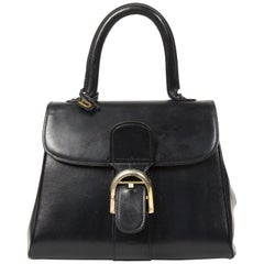 Delvaux Navy Brillant PM