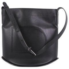 Delvaux Pin Shoulder Bag Leather Large