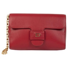 Delvaux Red Chain Evening Bag