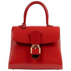 Delvaux Scarlet Red Brillant Diva + 2 Straps