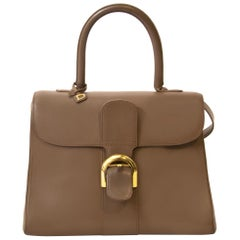 Delvaux Taupe Brillant MM