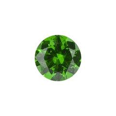 Demantoid Garnet Ring Gem 1.66 Carat Unheated Round Ural Russia Loose Gemstone