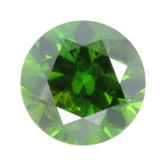 Demantoid Garnet Ring Gem 4.24 Carat Unheated Ural Russia Loose Gemstone