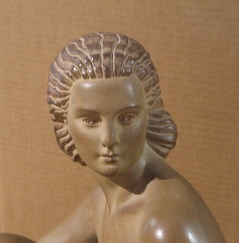 woman - Sculpture by Demetre Chiparus
