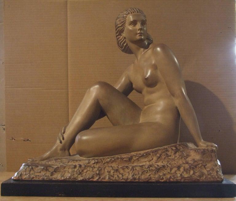 Demetre Chiparus Figurative Sculpture - woman