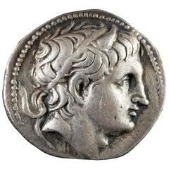 Demetrius Poliorcetes '306-283 BCE' Silver Tetradrachm