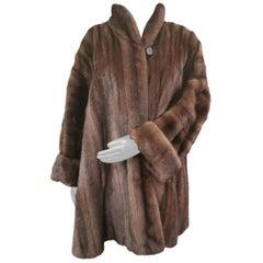 Demi buff mink fur coat size 30