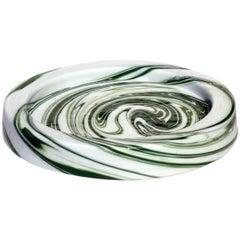 """""""Demodè"""" by Sergio Asti for Venini 1960s Murano Glass Ashtray"""