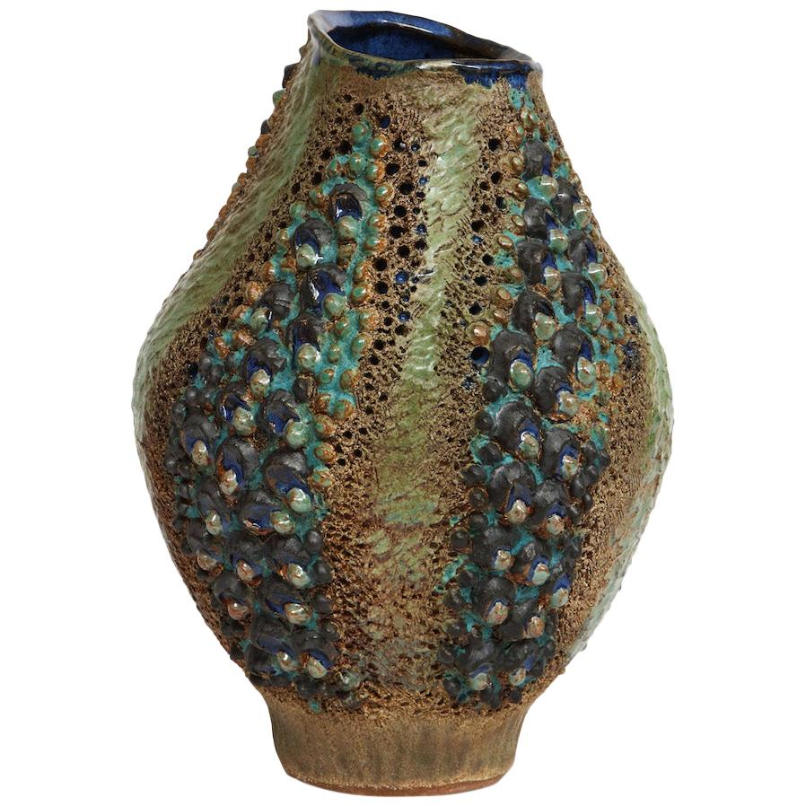Dena Zemsky Studio-Made Ceramic Vase
