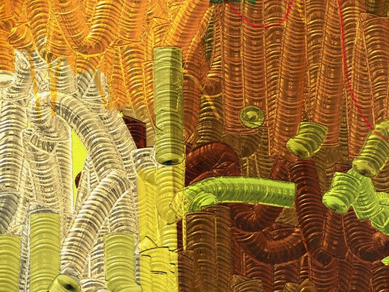 American Abstract Archival Digital Fine Art Print,