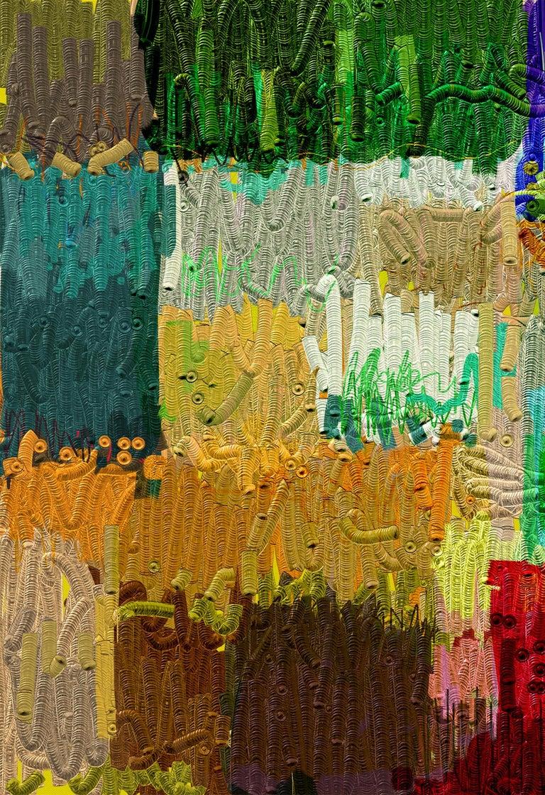 Contemporary Abstract Archival Digital Fine Art Print,