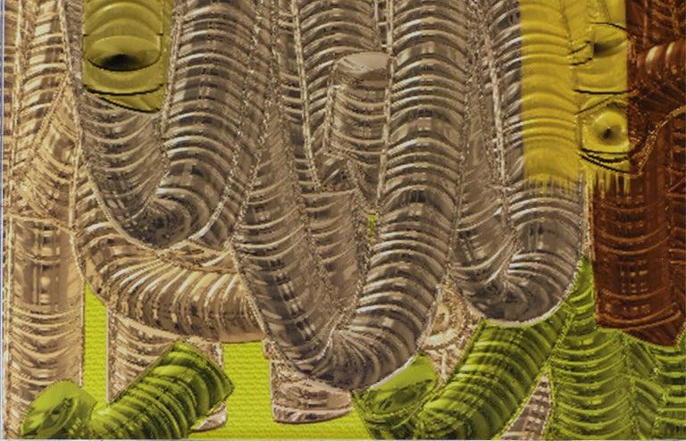 Plexiglass Abstract Archival Digital Fine Art Print,