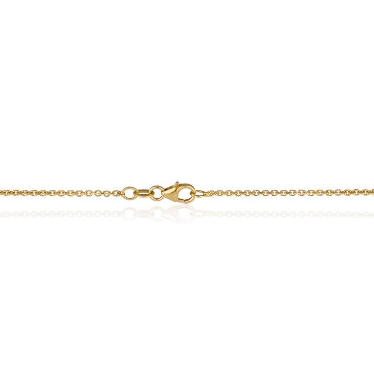 Oval Cut Dendritic Agate Coral Floral Leaf Design 22 Karat Yellow Gold Pendant Necklace For Sale