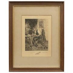 "Dendy Sadler, ""The Royal and Ancient"" Golf Print"