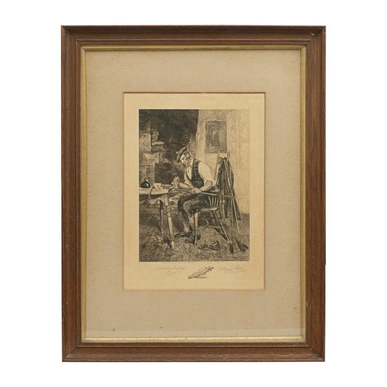 "Dendy Sadler, ""The Royal and Ancient"" Golf Print For Sale"