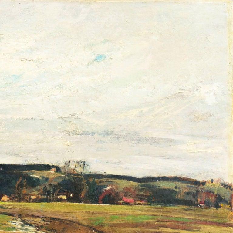 'Spring Landscape', Munich, Berlin, Hungarian Fine Arts Museum, Impressionist For Sale 3