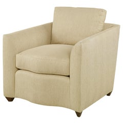 Denham Chair in Beige by CuratedKravet