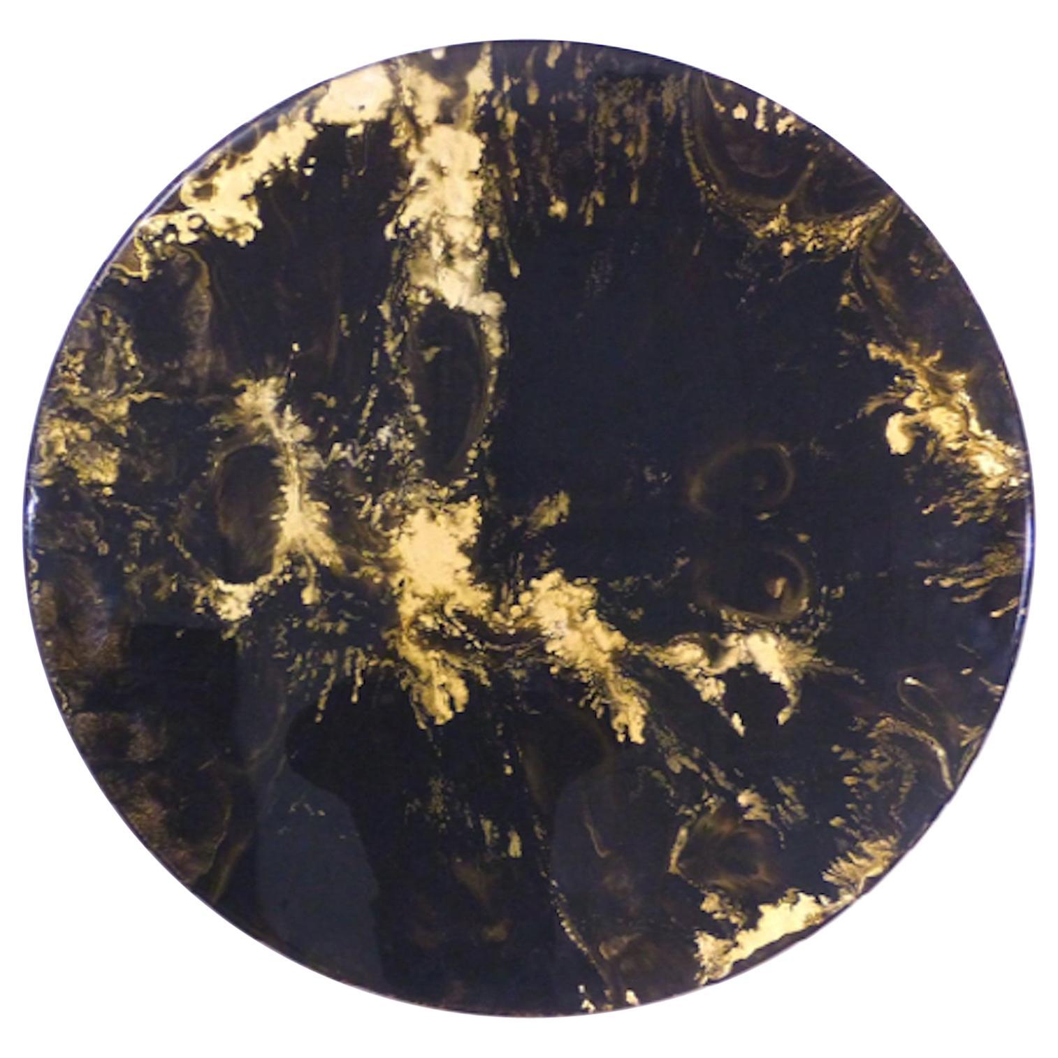 Denis Perrollaz Interstellar Painting in Mixed-Media
