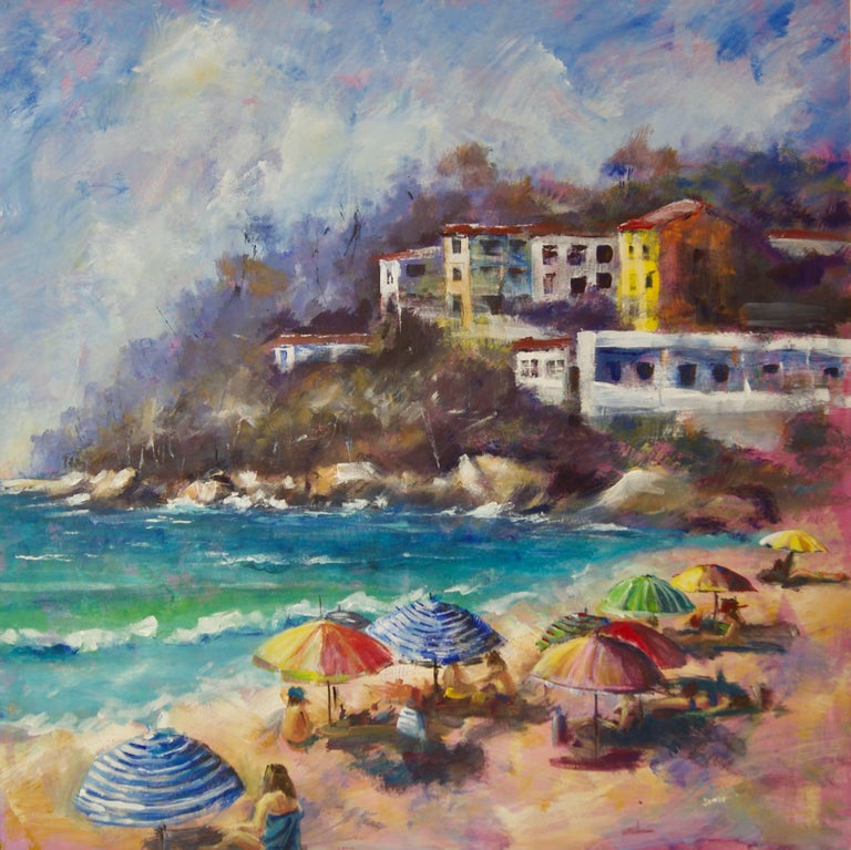 """Denise has been painting professionally since the early 1980's, and has been teaching watercolours since 2002.   She says """"my inspiration is the world around me... it is truly amazing. I will never tire of painting the sea, and I am completely"""