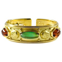 Denise Roberge 18 Karat Tourmaline Cuff Bracelet