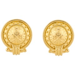 Denise Roberge Yellow Gold Earrings
