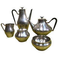 Denmark by Reed and Barton Silverplate Tea Set 5-Piece