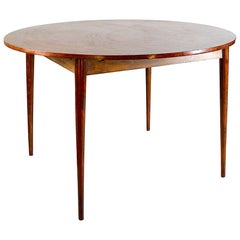 Denmark Midcentury Dyrlung Smithh Table Flip Flap