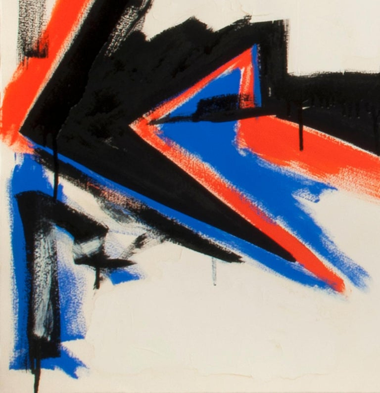 Untitled - Abstract Expressionist Painting by Dennis Ashbaugh