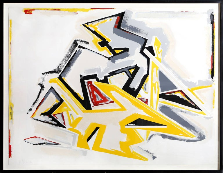 Dennis Ashbaugh Abstract Print - Great Performers, Large Abstract Screenprint by Ashbaugh
