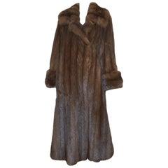 Dennis Basso Sable Fur Full-Length Coat