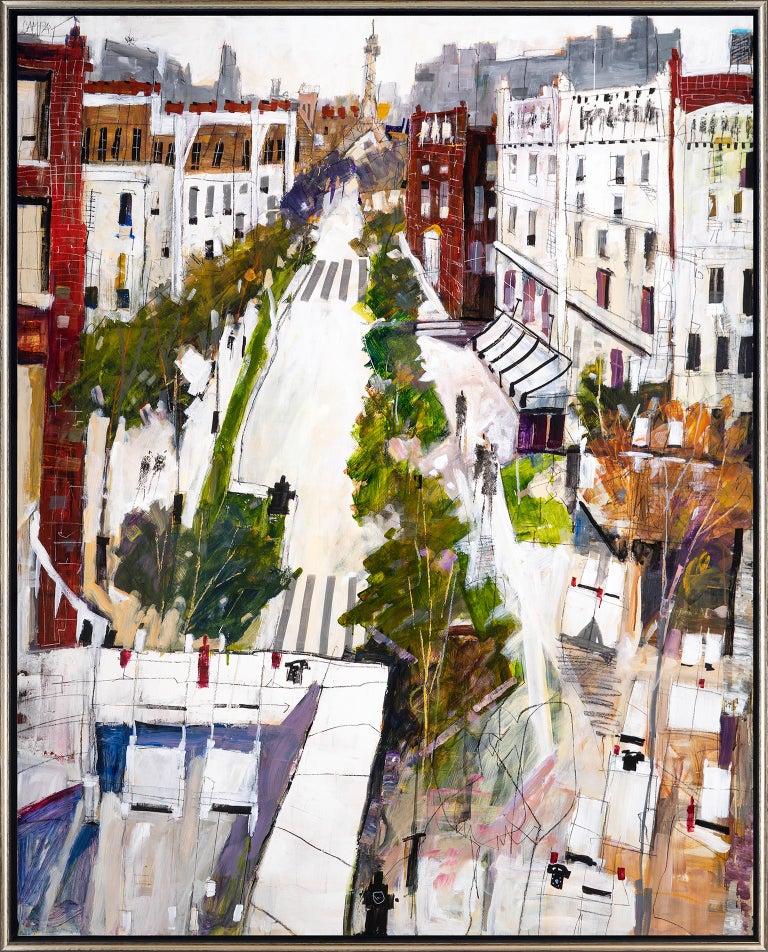 Dennis Campay Landscape Painting - Conversation